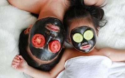 Masque visage miel spiruline